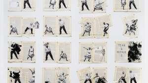 Commemorative William Kentridge print for Design Indaba