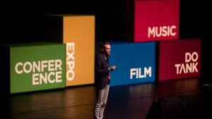 Daan Roosegaarde at Design Indaba Conference 2013.