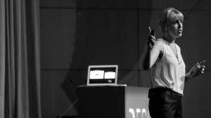 Alexandra Daisy Ginsberg at Design Indaba Conference 2013.