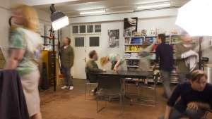 Experimental Jetset in their studio.