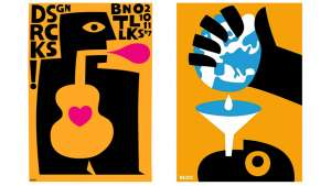 Posters by graphic designer Max Kisman.