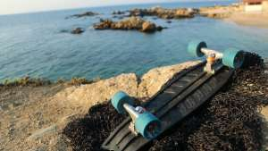The team behind Bureo skateboards is working with fishing communities to upcycle discarded nets.