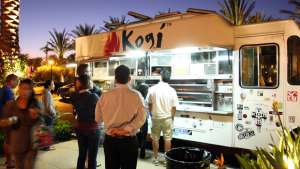 Roy Choi's famous LA food truck, Kogi. Image: classicwomansclub.net