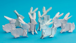 Ross Symons quit his job as a web developer and became an (almost accidental) origami artist