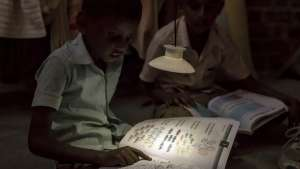 The GravityLight uses gravity to provide light to families who are off the grid.