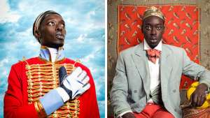 Senegalese photographer Omar Victor Diop is reviving the tradition of studio photography in Senegal, and recreating portraits of historical African leaders.