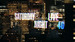 New York-based graphic designer Emily Oberman has been working on the title credits for Saturday Night Live for the last 20 years