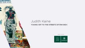 Judith Kaine: Taking art to the streets of Rwanda