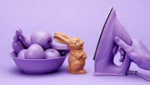 The Chocolate Bunny by Lernert & Sander