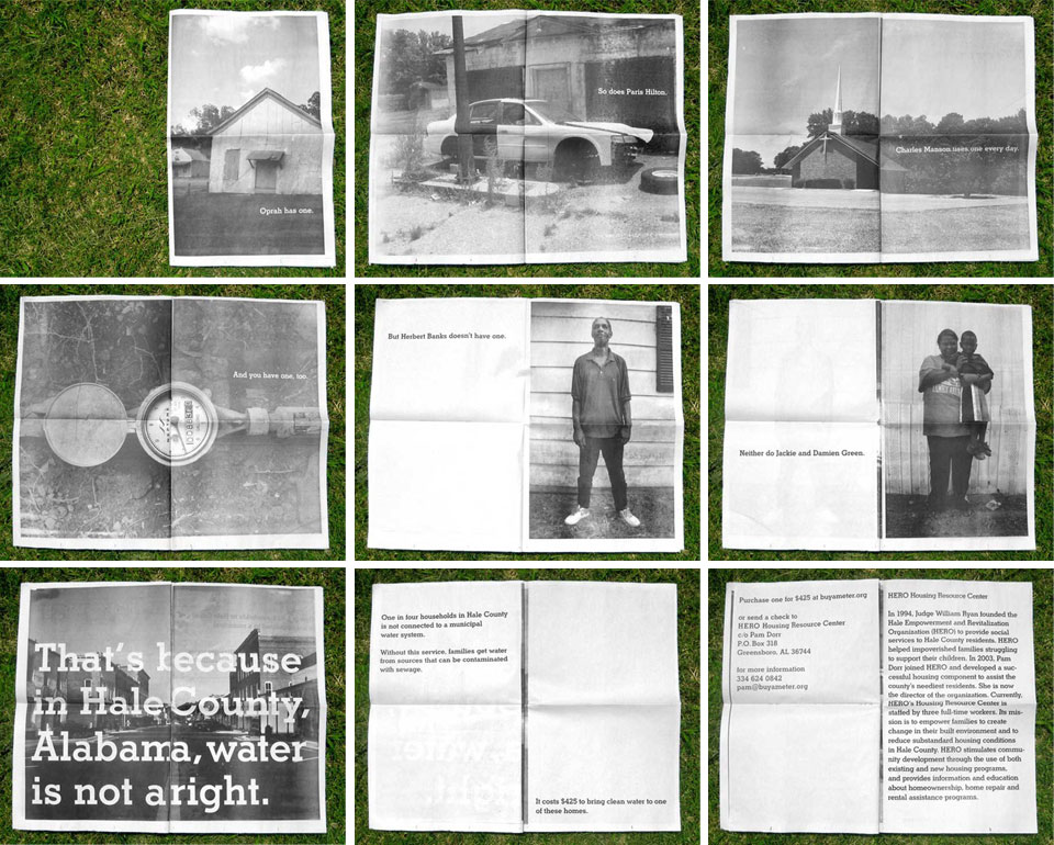 Images from the 'Buy A Meter' Campaign
