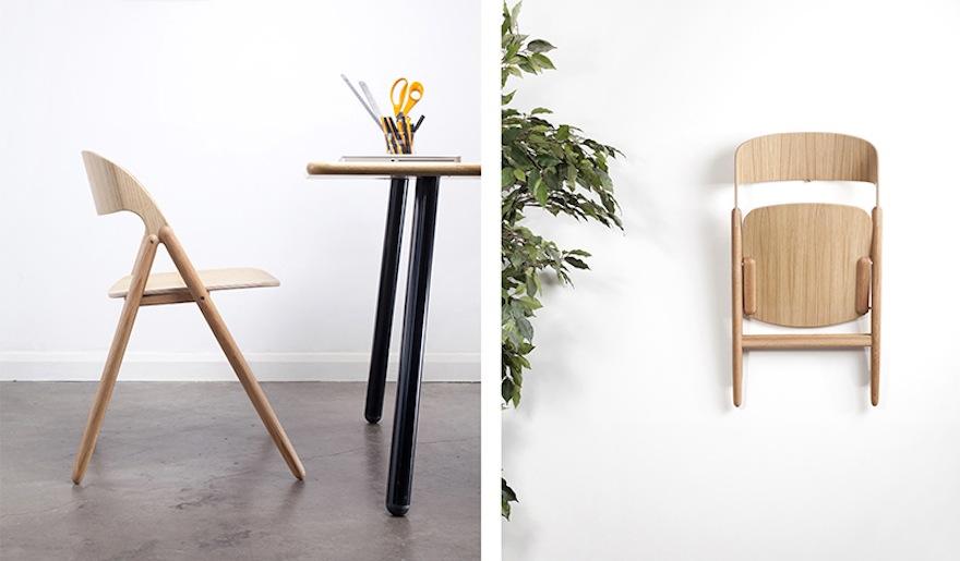 A Contemporary Folding Chair By David Irwin Studio Design Indaba