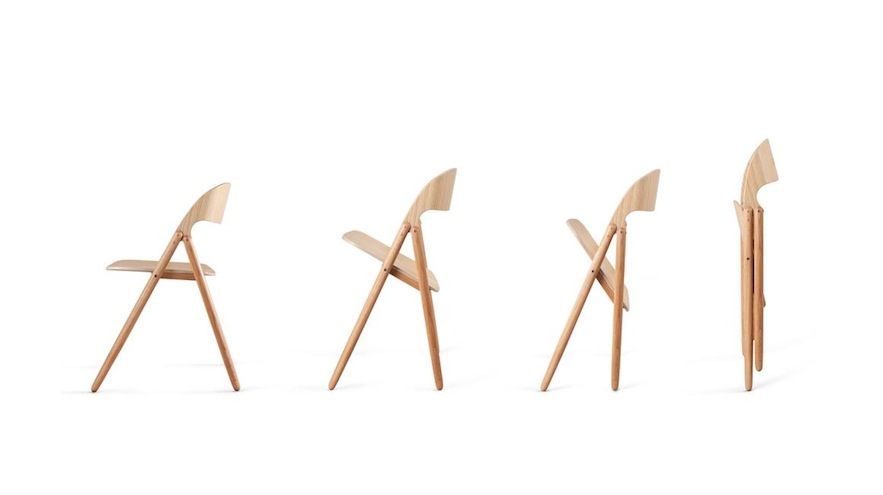 A Contemporary Folding Chair By David Irwin Studio