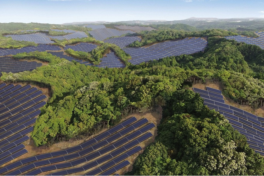 Abandoned Golf Courses In Japan Are Being Turned Into Solar Energy Fields Design Indaba