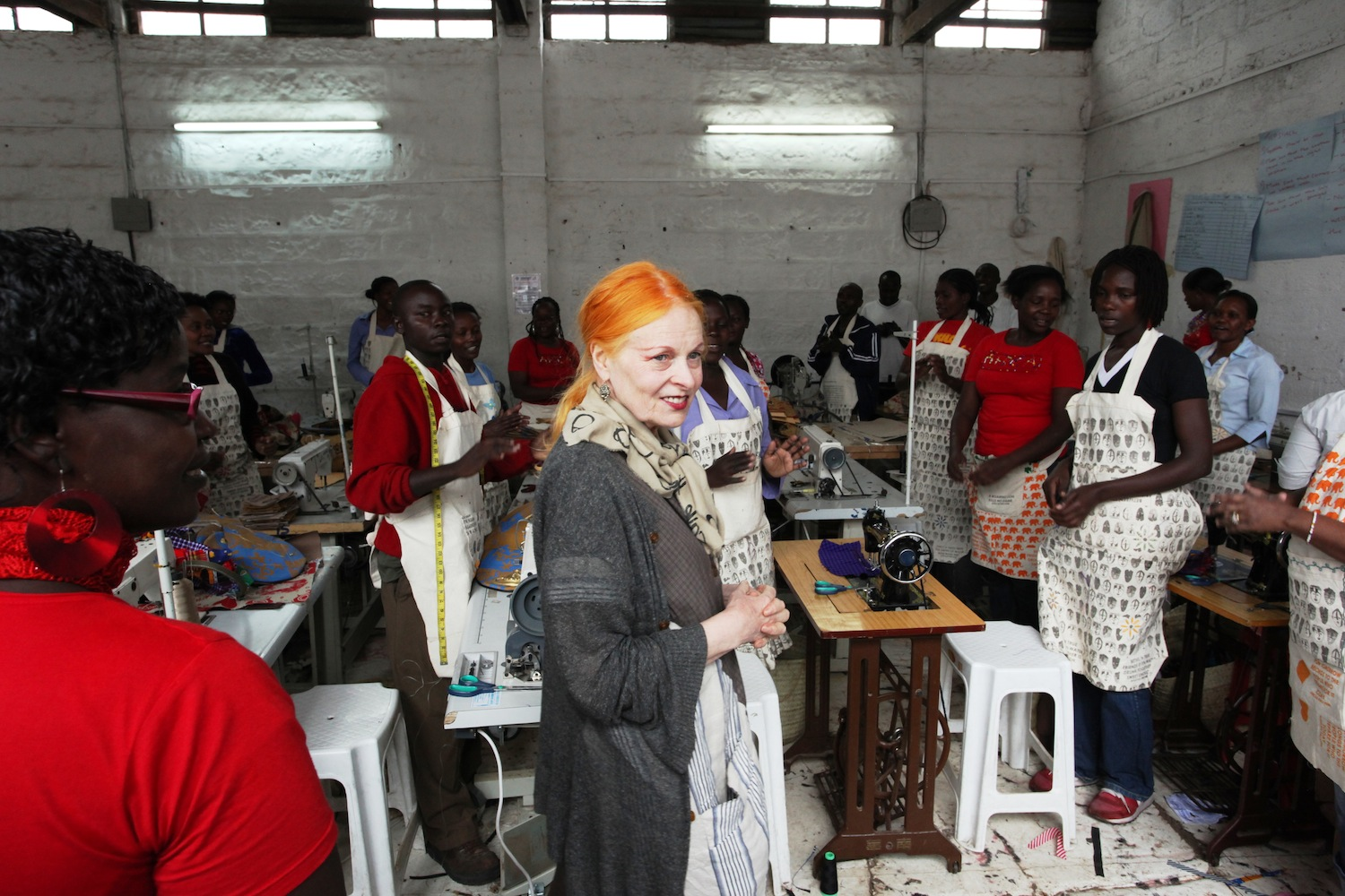 Embroidering African Women S Artisanal Skills Onto International Runways Design Indaba