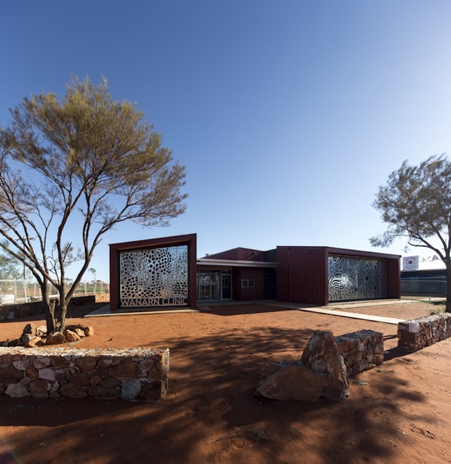 Small Modern House In Australia: Award-winning Outback Clinic Brings Healthcare To Rural