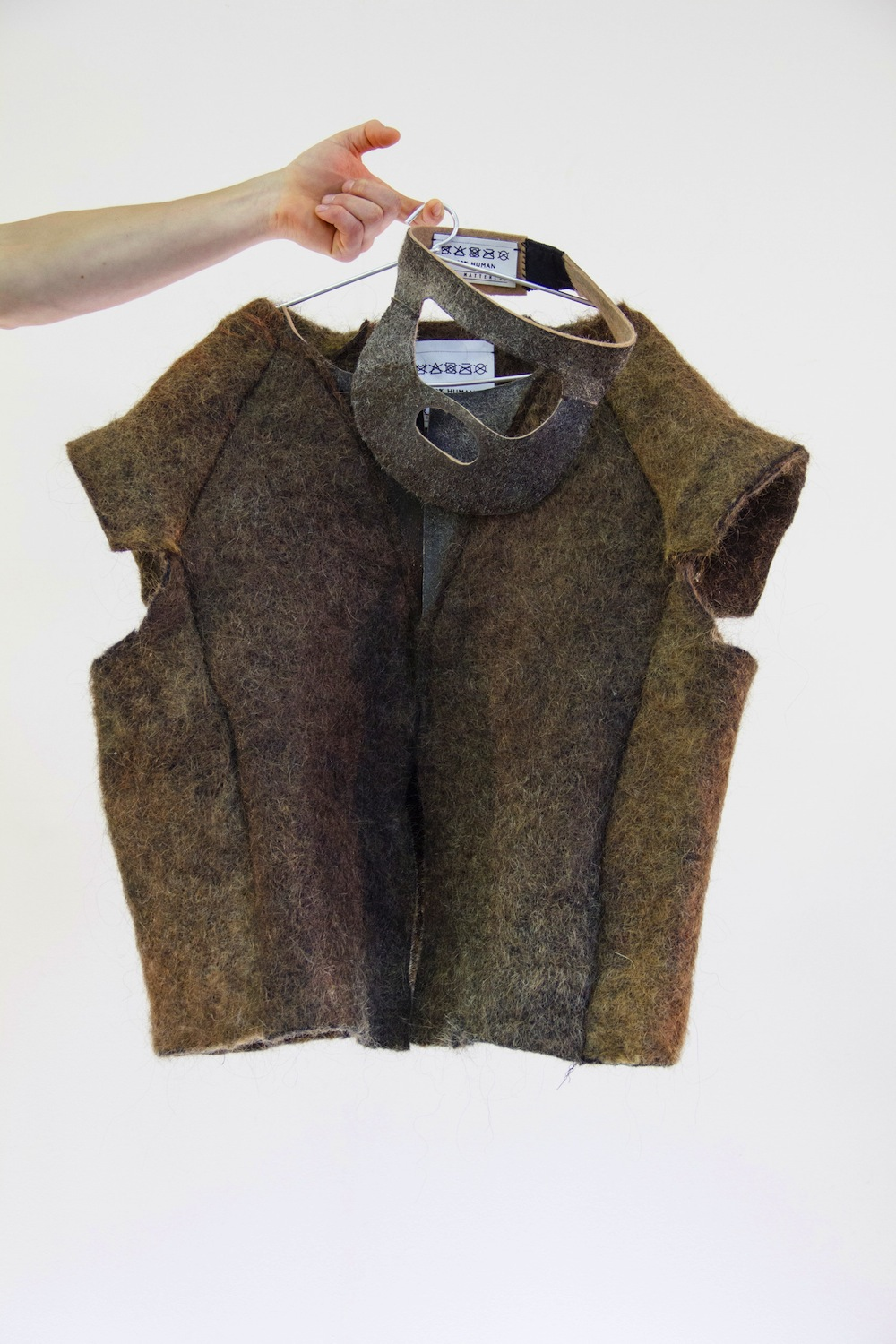 Eindhoven Graduate Designs Clothes Made Out Of Human Hair