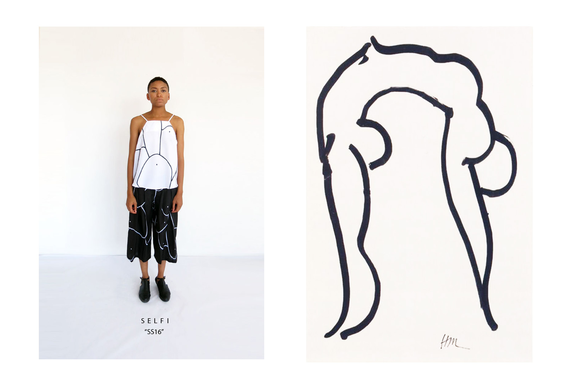 Celeste arendses latest collection references the women of picasso and matisse design indaba