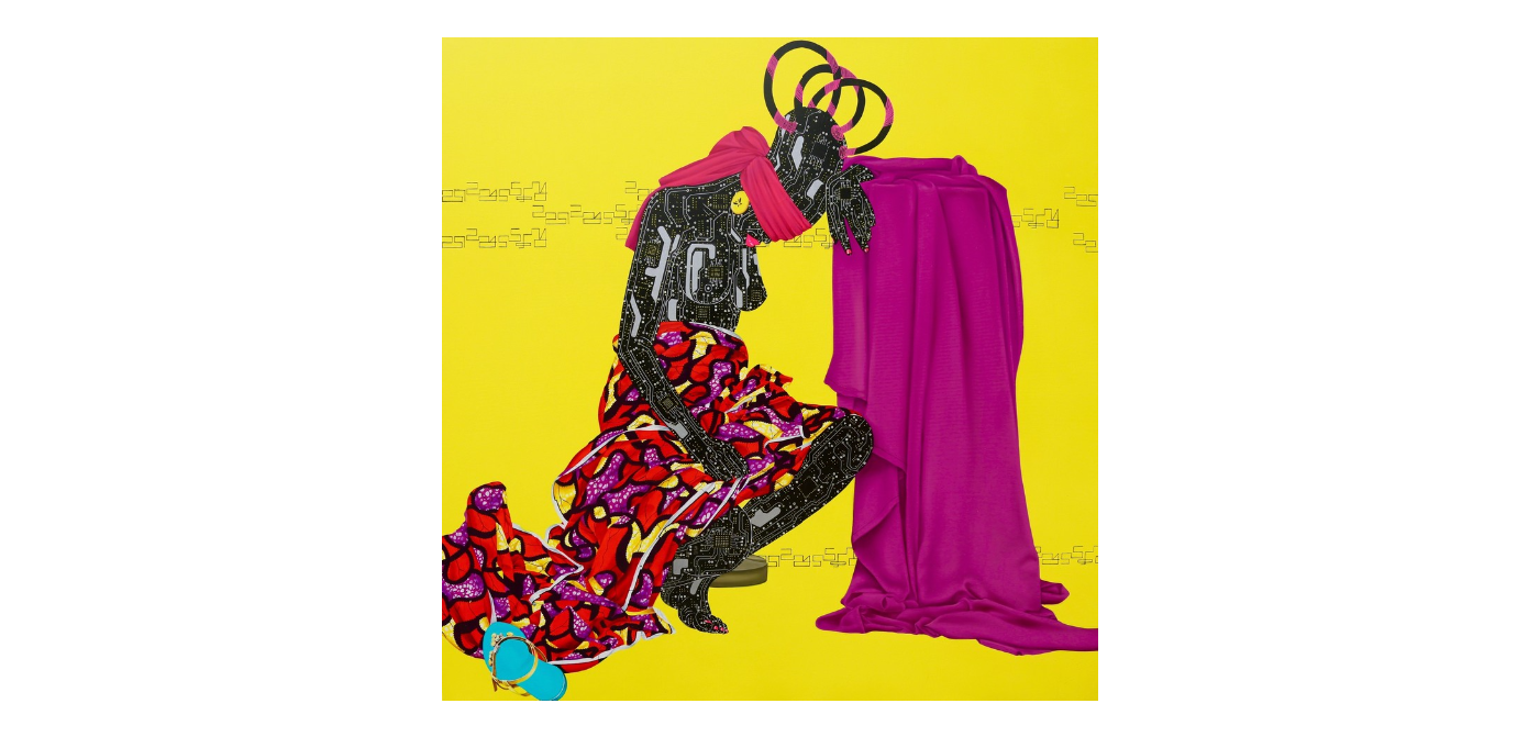 Eddy Kamuanga draws inspiration from the hybridity and