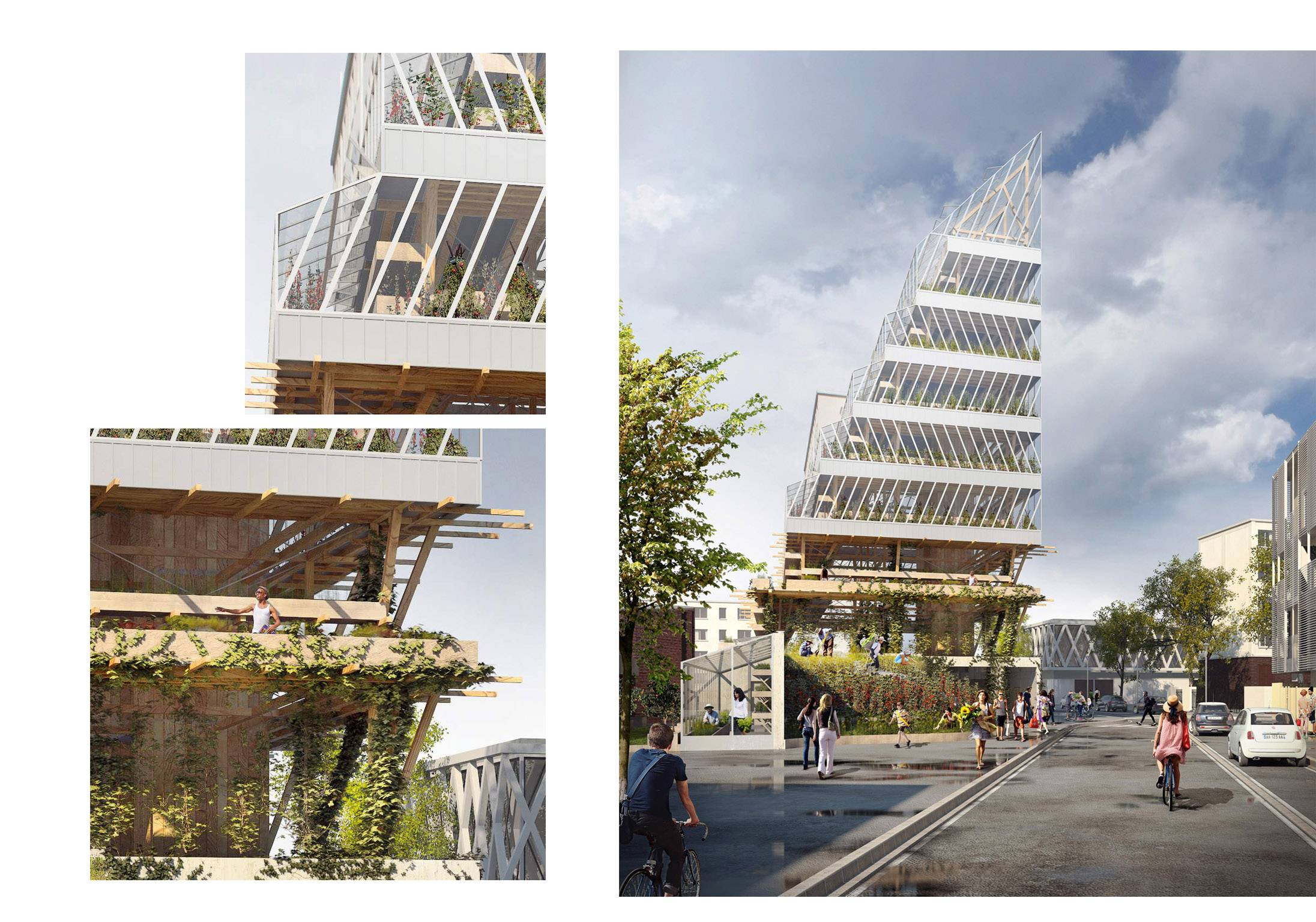 Agriculture meets architecture in France's urban farm ...