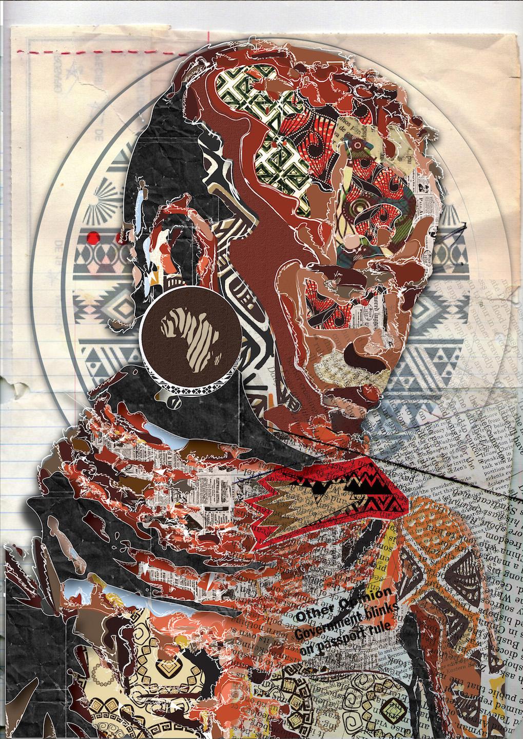 Lungile Mbokane: An emerging graphic artist telling ...