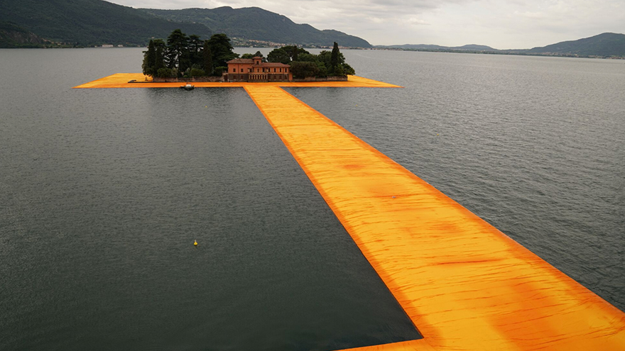Ribbon Like Bridge By Christo And Jean Claude Lets Public