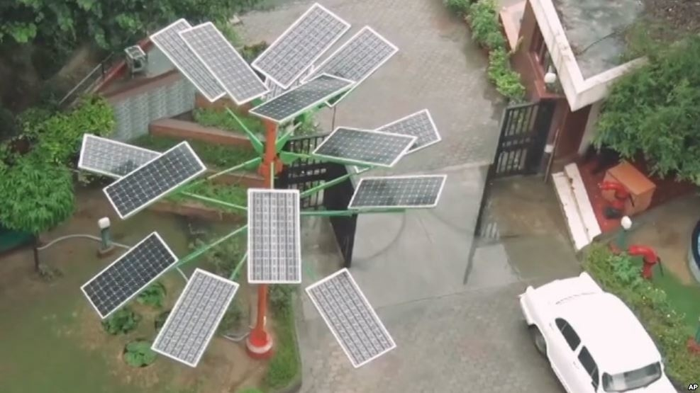 Indian Scientists Create Device To Collect Solar Energy