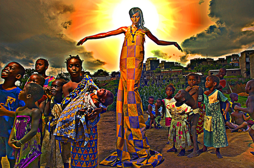 Ivorian Photo Maker Paul Sika Is Turning His Creative