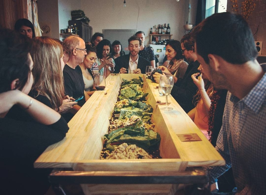 Fodder The Pop Up Dining Experience That Turns Eating