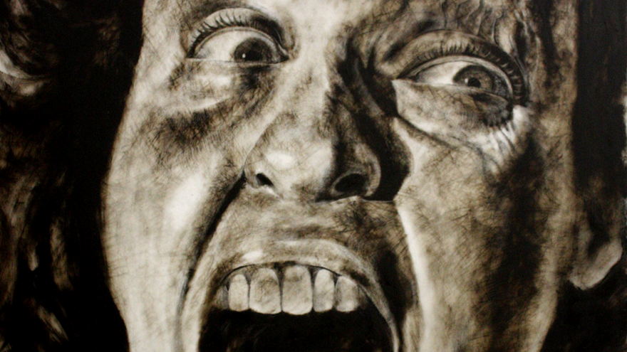 Falling Representing Depression Through Art Design Indaba