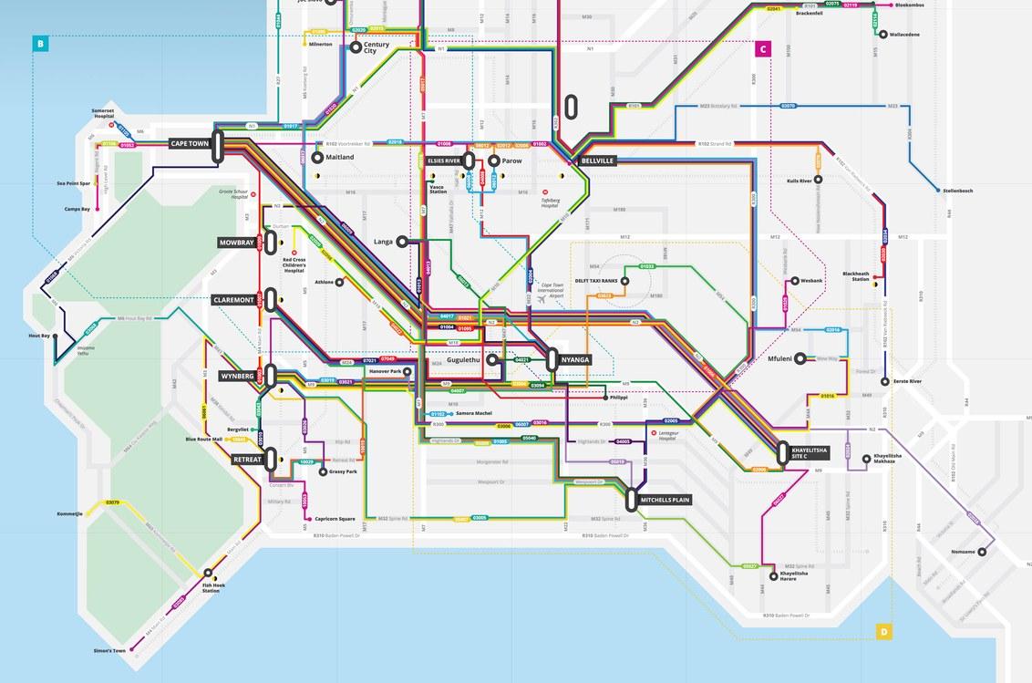 bas prix pour toute la famille livraison rapide WhereIsMyTransport mapped the entire public transport ...