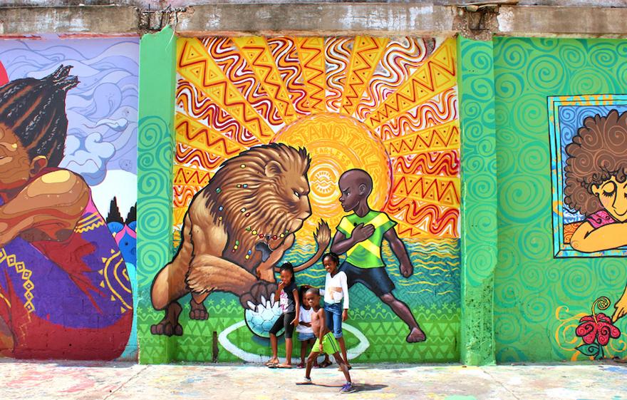 Engaging A Community Through Street Art Design Indaba