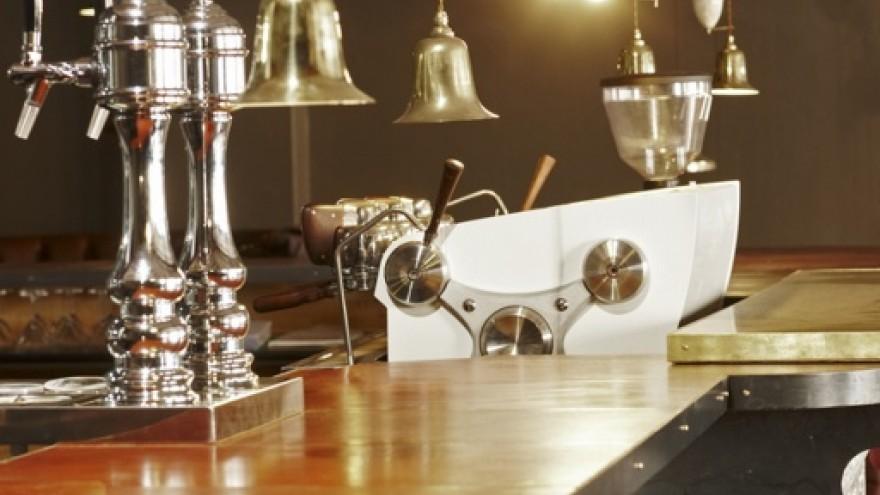 Steampunk inspired interior by Haldane Martin