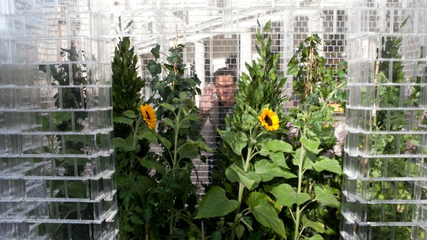 Lego Greenhouse at London2011.