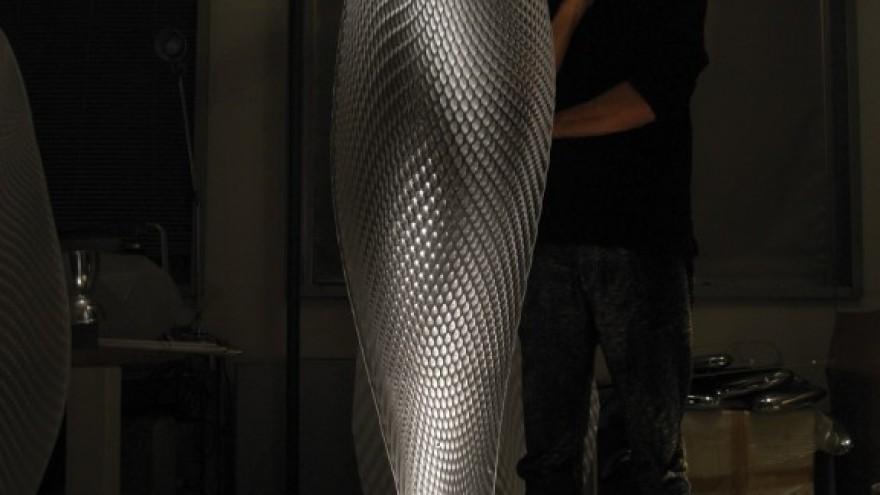 Cosmic Leaf lamp for Artemide. Courtesy of Ross Lovegrove.