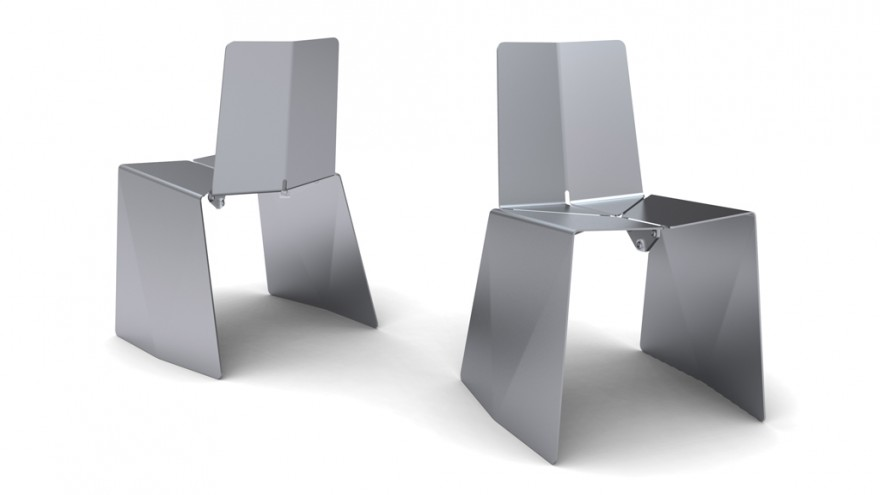 Tripart chair for Quinze & Milan. Courtesy of Jens Martin Skibsted / KiBiSi.