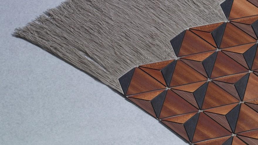 Wooden Textile. Photo: Sebastian Neeb.