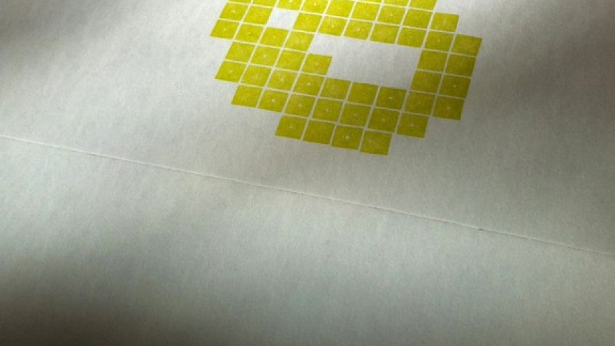 Lego letterpress by Physical Fiction.