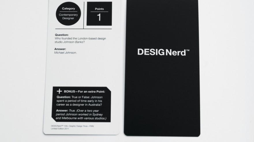 DESIGNerd 100+ Graphic Design Trivia