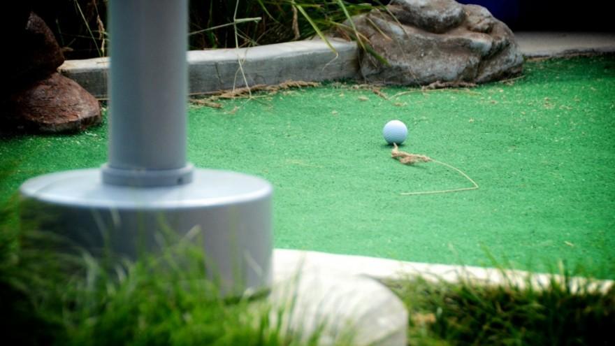 The Mini-Golf Open. Photo: Brian Fountain.