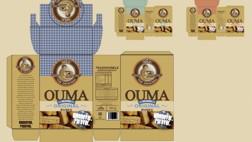"""Ouma rusks """"Whenever Forever"""" by Inus Smuts & Leon Bester."""