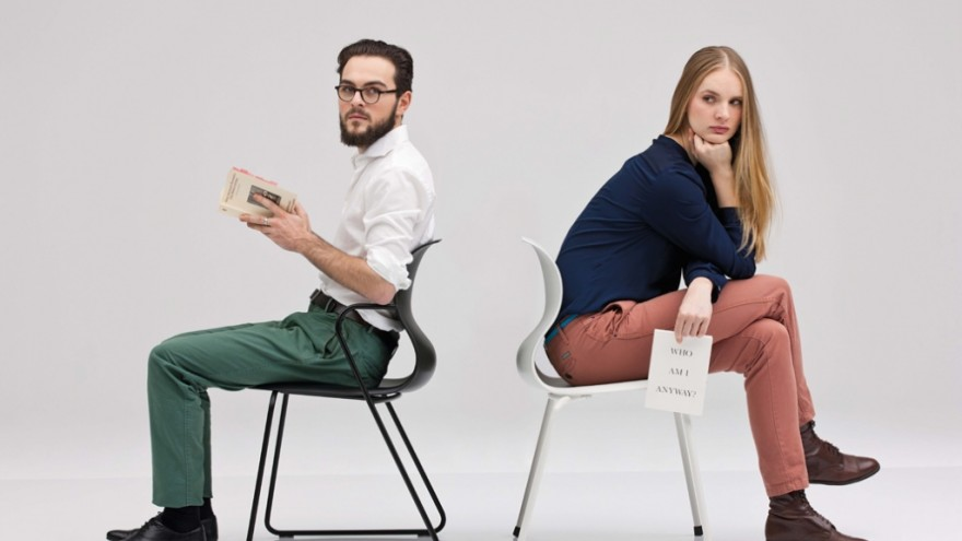 Pro chair by Konstantin Grcic. Photo: Oliviero Toscani.