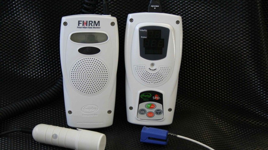 The Freeplay Fetal Heart Rate monitor by Philip Goodwin, Stefan Zwahlen and John Hutchinson, Freeplay Energy, South Africa