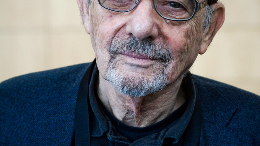 Graphic designer Seymour Chwast