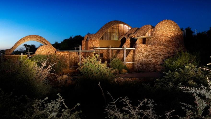 Mapungubwe Interpretation Centre by Peter Rich, South Africa.