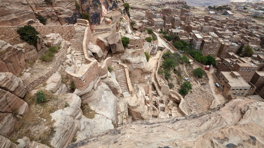 Thula Fort Restoration by Abdullah Al-Hadrami, Thula, Yemen.