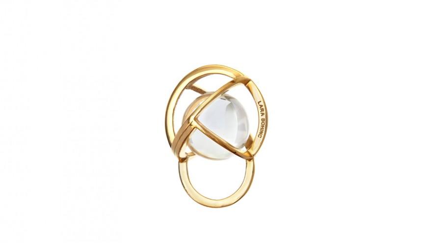 Planetaria Ring by Lara Bohinc.