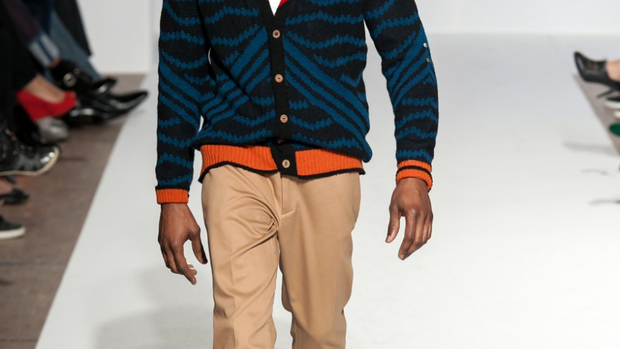 My Heritage, My Inheritance knitwear collection by Laduma Ngxokolo.