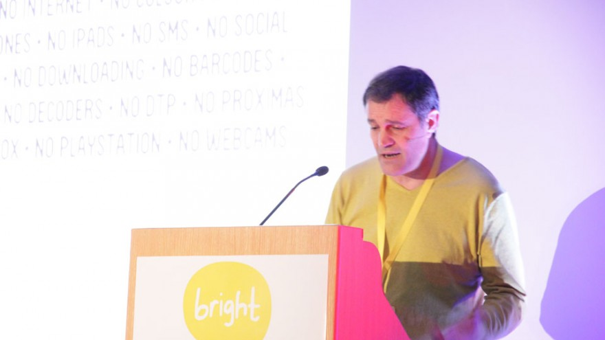 Ross Chowles at Bright Talks Cape Town.