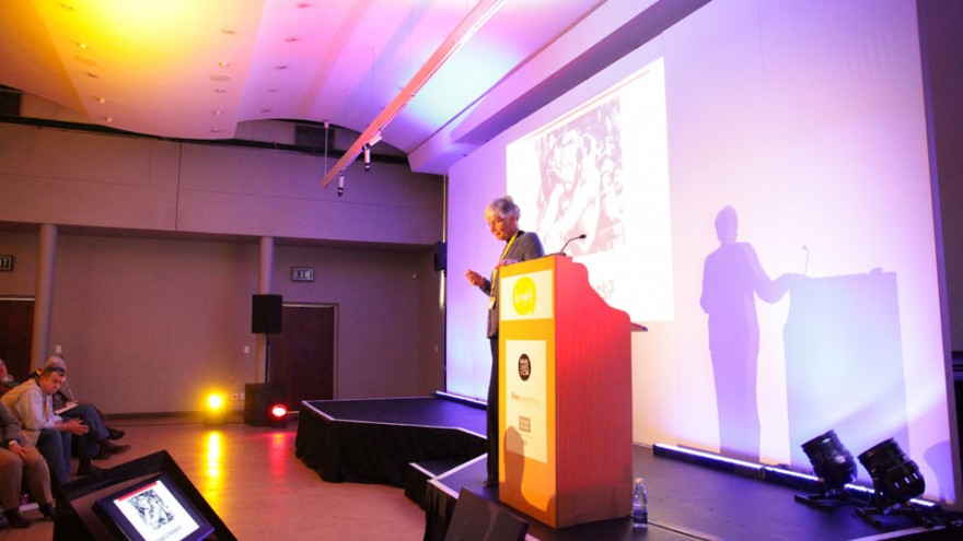 Margaret Jenks at Bright Talks Cape Town.