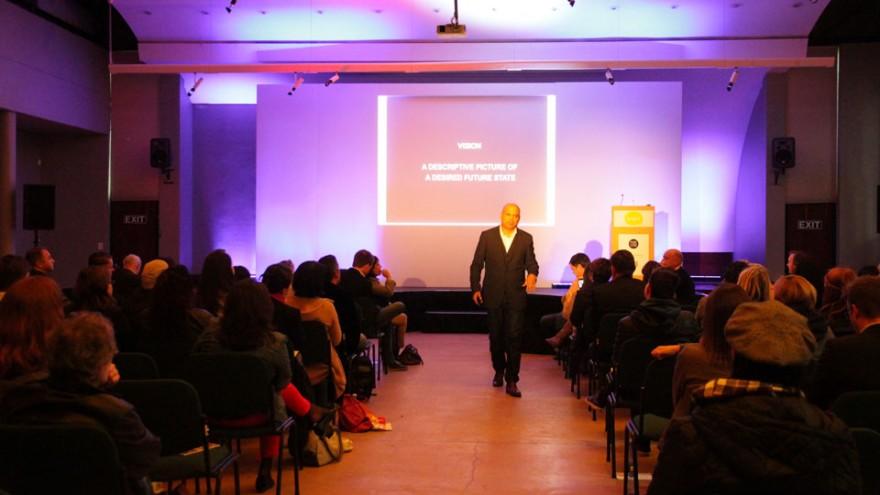 Ravi Naidoo at Bright Talks Cape Town.